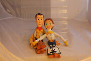 Disney Toy Story Talking Woody 13 And Jessie 12 Action Figure Doll Pull String