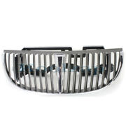 98-02 Towncar Front Grill Grille Assembly Chrome Frame W/silver Bars Xw1z8200ba