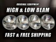 Oe Front Halogen Headlight Bulb For Volkswagen 411 1971-1973 High And Low Beam X4