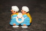 Vintage Ramp Walker Toy Two Sailor Plastic Shuffle Feet Made In Hong Kong