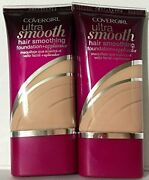 2pcs Cover Girl 00213 810clsciv Ultra Smooth Foundation Cl