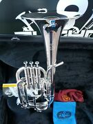 John Packer 272 Silver Alto Horn- Professional Bell Made In One Piece