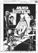 Dc Comics Whoand039s Who Issue 5 Mad Hatter Pinup Mark Badger Artwork 1990 Batman