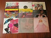 Lot Of 12 - Disco Dance 70s And More Lps And 12 Singles All Listed And Graded