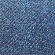 18 Oz. Navy Textured Cut Pile/loop Marine Boat Carpet Closeout 8ft. X 12ft