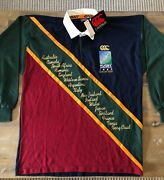 Rugby World Cup 1995 Limited Edition Official Canterbury Jumper 1 Of 500 Rare