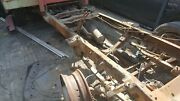 60 Ford F250 2wd Bare Frame With Suspension And Rear Axle Used