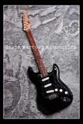 Gfa Country Legend Neil Young Signed Electric Guitar Proof Ad1 Coa