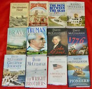 David Mccullough Complete Works All 1st Editions All Autographed W/djkts Vg-ex