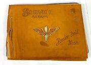 1942 Us Army Air Force Keesler Field Soldiers Photo Album - 79 Photos