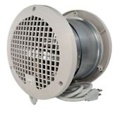 Transfer Fan Thruwall Circulate Warm Cool Air Paintable Grille All Hvac Types