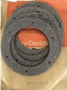 """37854-41 Harley 45"""" 1941-1957 W And G Clutch Friction Discs Fiber Plates Nos Part"""