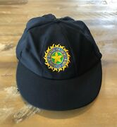 Player Issued - Indian National Team Baggy Test Cricket Cap C1990s - Authentic