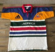 Percy Montgomery No.15 Match Worn And Signed 1st Stormers Rugby Kit Authentic