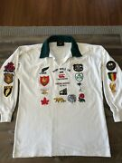 1991 Limited Edition World Cup Rugby Union Crests Jersey - 24/500 Collectable