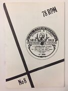 Vintage 1969 78 Rpm Record Collectors Newsletter Uk Classical Music Trading 60s