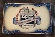 Zippo Lighter 60th Anniversary Series 1932-1992 Collectable 6 Lighters