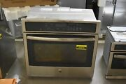 Ge Pt7050sfss 30 Stainless Single Electric Wall Oven Nob 43875 Hrt