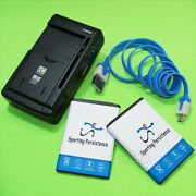 Upgraded Sporting 3000mah Battery Or Charger For Lg Optimus Fuel L34c Smartphone