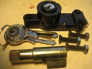 Bmw /2 Fork And Gas Tank Compartment Lock Set W/keys+mounting Screws R50-r69s