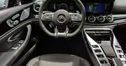 Mercedes-benz Oem X290 Amg Gt Coupe Piano Black Interior Trim Kit 7 Pieces New