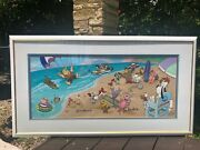 Hanna-barbera Hand Painted Limited Edition Cel Endless Summer Signed