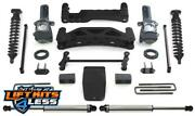 Fabtech K2003dl 6 Performance Lift Kit W/ Ss Shocks For 2004-08 Ford F-150 4wd