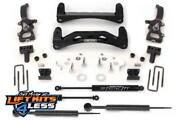 Fabtech K2000m 6 Basic Lift Kit W/stealth Shocks For 2004-2008 Ford F-150 2wd