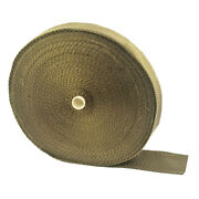Titanium Exhaust Header Pipe Heat Wrap Roll Tape 2in X 98ft