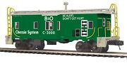 Mth O Scale Chessie C-3000 Bay Window Caboose 20-91404 New In Box
