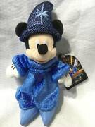 Out Of Print Sold Out Tokyo Disney Sea Mickey Mouse Fantastic Plush Badge Doll