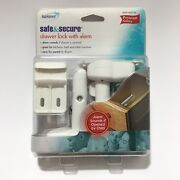 Safe And Secure Drawer Lock With Alarm Premium Safety Birth And Up Child Summer