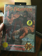 Vintage Sega Pit Fighter First Printing Factory Sealed Brand New Video Game