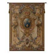 Grandes Armoiries French Royal Coat Of Arms Fleur De Lis Tapestry Wall Hanging