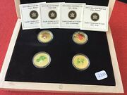 2010 75 Gold Coin Set Summer-spring - Fall - Winter 0.9oz.pure Gold