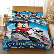 Cool Mickey Mouse 3d Printing Duvet Quilt Doona Covers Pillow Case Bedding Sets