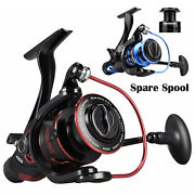 Kastking Baitfeeder Front And Rear Drag Spinning Fishing Reel +free Spare Spool Us