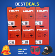 Hilti Gx 120 Or Gx Pins And Gas, 6 Boxes 3/4 Pins Free Hat Fast Shipping
