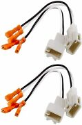 2 Pair 4 Metra 72-8104 Speaker Wire Adapters For Select Toyota 1987-up Car's