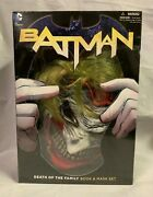Batman Vol 3 Death Of The Family Book And Mask Set Still Sealed Brand New