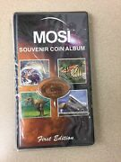 Tampa Florida Mosi Elongated Penny Book Museum Science Industry Holds 44 Coins