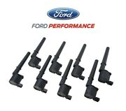 2007-2014 Shelby Gt500 Ford Performance M-12029-4v Engine Ignition Coils 8pc Kit