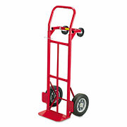 Safco Two-way Convertible Hand Truck 500-600lb Capacity 18w X 51h Red 4086r