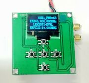 Lmx2572 80ma 12.5m-6.4ghz Fsk Phase-locked Loop Low Power Low Noise Stc Board