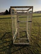 Poultry Panels 6ft High 1 X 1 Wire 19g 3 Walls With Door