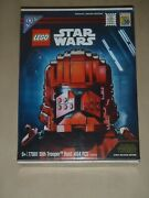 Sdcc 2019 Exclusive Lego Star Wars Sith Trooper Bust 77901 2900 Of 3000