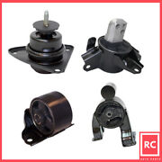 Engine Motor And Trans Mount 4pcs Set Fit 12-13 Kia Forte5 2.0/2.4l For Auto Trans