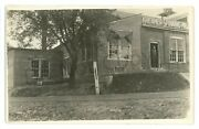 Rppc Spinning Mill Factory Kreamer Pa Snyder County Real Photo Postcard