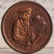 Germany. Weimar Republic. 1928 Copper Medal. Cologne City. Great 36 Mm