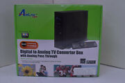 Airlink 101 Dtv Atvc102 Converter Box Brand New With Remote. Ota Tv Digital